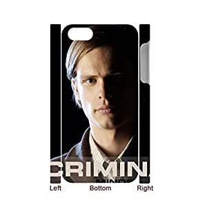 Generic For 5S Apple Iphone Quilted Phone Case For Guys Printing With Criminal Minds Choose Design 1-3