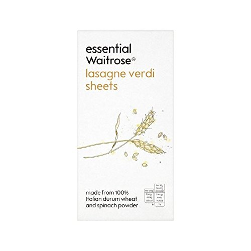 Lasagne Verdi essential Waitrose 375g - Pack of 6