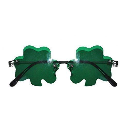 Gl/äsern Happy St Lively Moments Scherzbrille mit Kleeblatt Patrick/´s Day