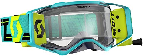 Scott Prospect WFS Adult Off-Road Motorcycle Goggles - Blue/Teal / Clear/One Size ()