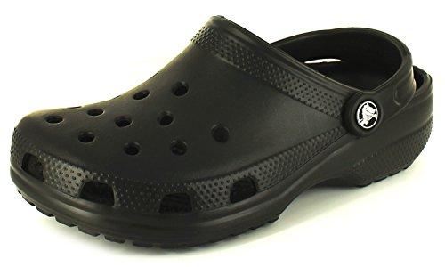 Crocs Mens Original Classic Black Clogs/Shoes US 11