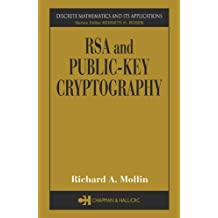 RSA and Public-Key Cryptography (Discrete Mathematics and Its Applications)