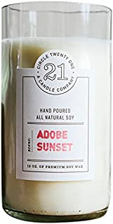 product image for Circle 21 Candles Adobe Sunset Scented Soy Candle, Clear