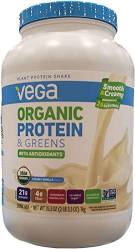 Vega Organic Protein Powder Vanilla, 2.2 Pound
