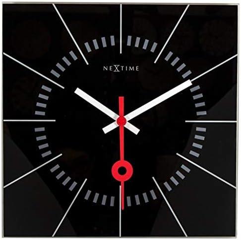 NEXTIME Unek Goods Stazione Wall Clock