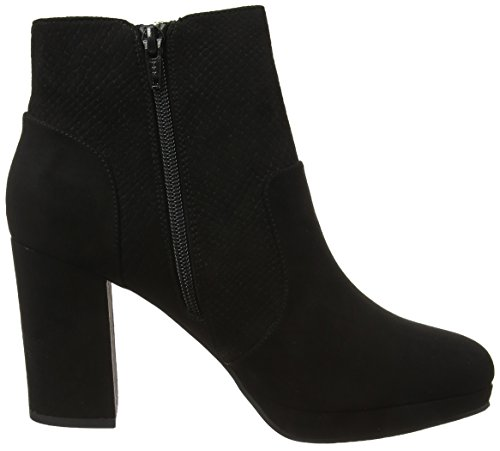 Miss Selfridge Women's Zip Chelsea Boots Grey (Black) TD6oj