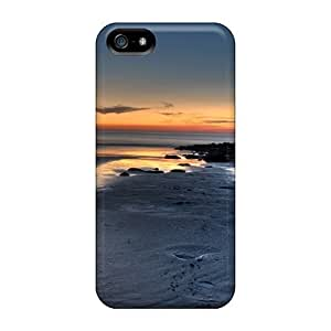New Hard Cases Premium For Iphone 5/5S Phone Case Cover Skin Cases Covers(beach)