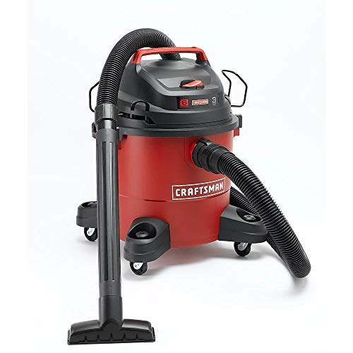 Craftsman 6 Gallon 3 Peak Horse Power HP Wet/Dry Vac 12004 Workshop