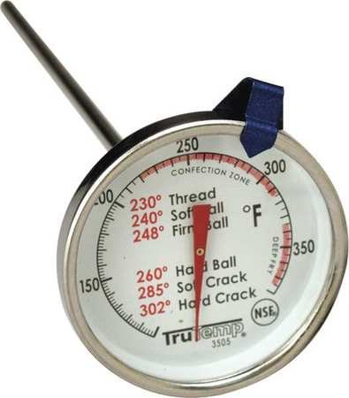 Candy Thermometer, 100 to 380F by TRUTEMP (Image #1)