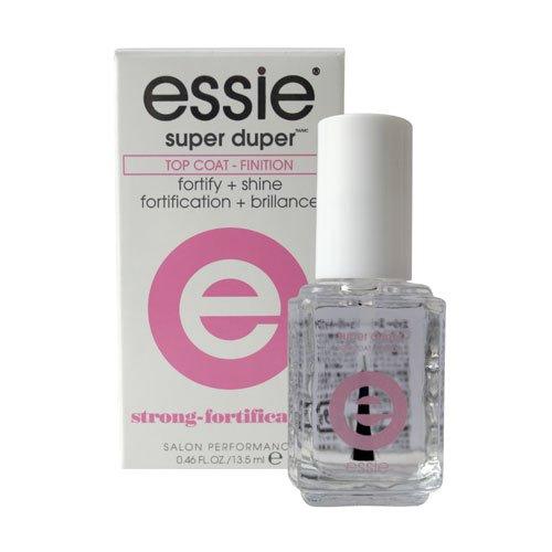essie Top Coat Nail Polish, Nail Treatment Super Duper Top Coat - 0.46 Oz by Essie