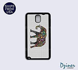 Galaxy Note 3 Case - Indian Art Colorful Elephant