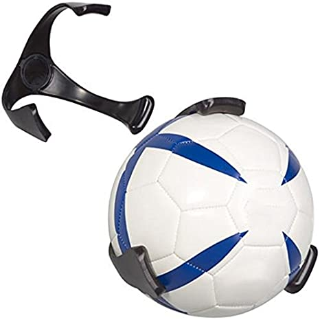 XuBa - Soporte de Pared para balón de fútbol de Rugby o Baloncesto ...