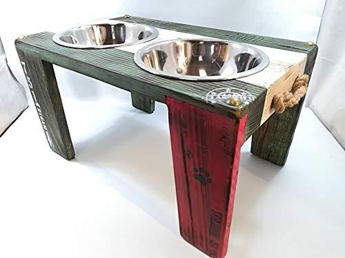 Comedero para perros y gatos Ciro atrevido: Amazon.es: Handmade