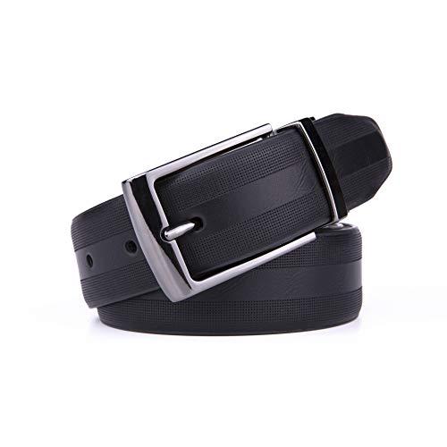 Men's Vegan Reversible Belt Black/Brown (36/38, Black/Brown)