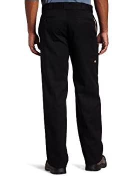 Dickies Men's Loose Fit Double Knee Twill Work Pant, Black, 36w X 30l 1