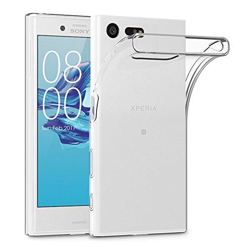 22 opinioni per Terrapin TPU Gel Custodia per Sony Xperia X Compact Skin, Colore: Trasparente