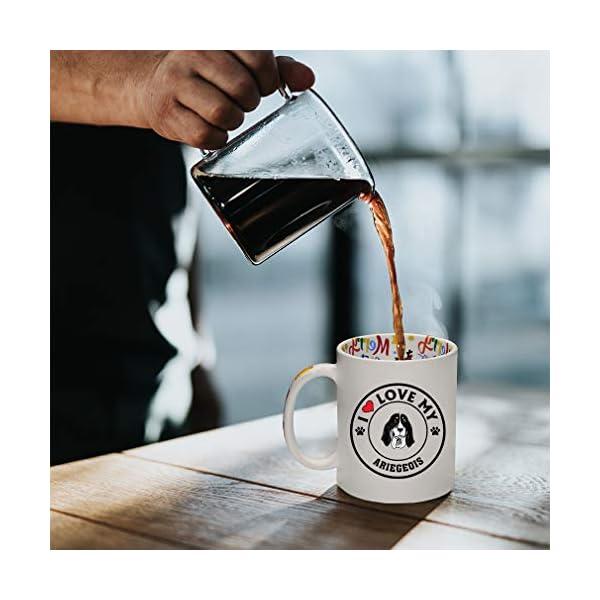 Ceramic Christmas Coffee Mug I Love My Ariegeois Dog Style A Funny Tea Cup 5