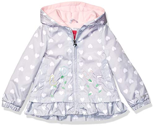 Toddler Girls Jacket - London Fog Girls' Toddler Midweight Fleece Lined Jacket, Silver Gray, 3T
