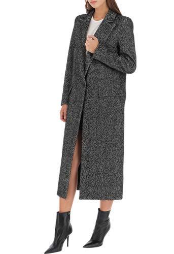 imperial cappotto nero lungo