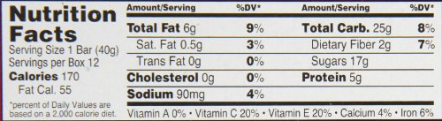 Orchard Bars Fruit and Nut Bar, Strawberry/Raspberry/Walnut, 1.4 Ounce (Pack of 12) by Orchard Bars (Image #1)'