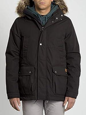 Volcom Lidward 5K Jacket Chaqueta, Hombre, Negro, M: Amazon.es ...
