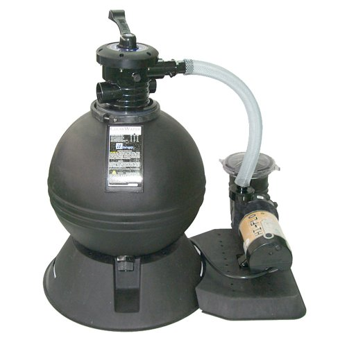 Splash pools 19 sand filter and pool pump with 1hp motor appliances for home - Sandfilterpumpe fur pool ...