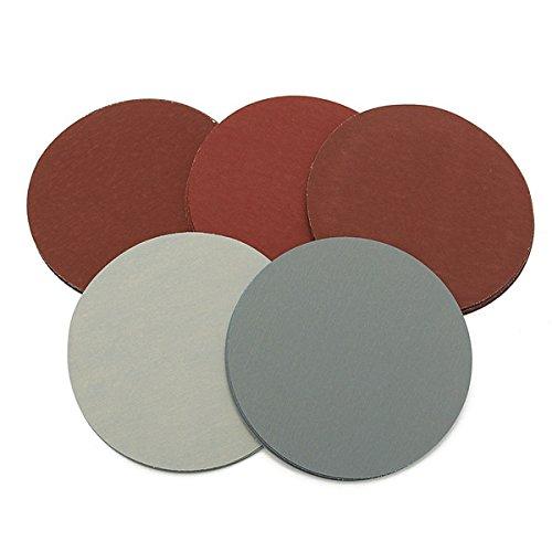 Letbo New 25pcs 5 Inch 1000 1500 2000 2500 3000 Grit Sanding Discs Sandpaper Lbg