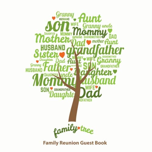 Family Reunion Guest Book: Family Reunion Sign in Book, Message Book, Memory Book, Keepsakes and Scrapbook For Parties Events with Space for 360 ... Tree Cover (Our Family Reunion Guest Book)