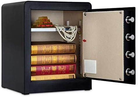 パーツボックス 安全な45センチメートル電子パスワードロック解除ホームデジタル製品貴重品オフィスステルス小型金庫クリスマスのギフト (Color : B, Size : 38*32*45cm)