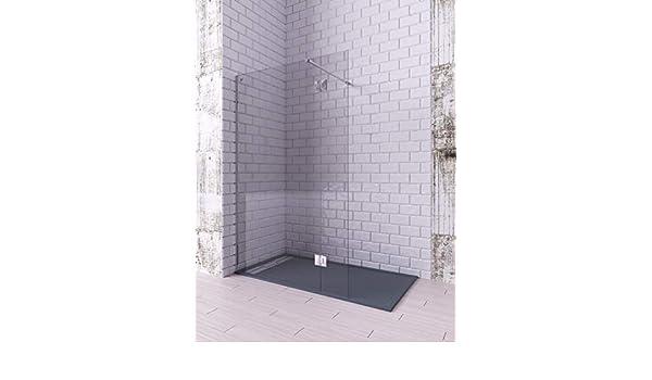 Modelo LIBO - Mampara de ducha de 1 hoja fija + 1 abatible ...