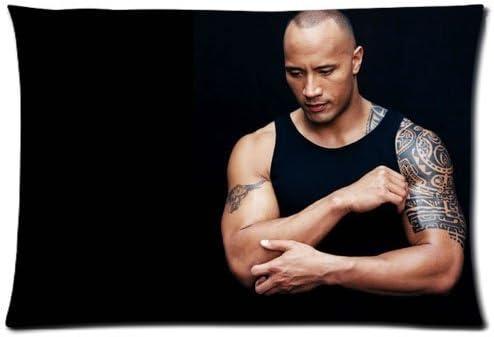 dwayne the rock johnson body pillow