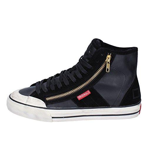 Donna Camoscio D A Sneakers Date E T Pelle Nero X0rqX