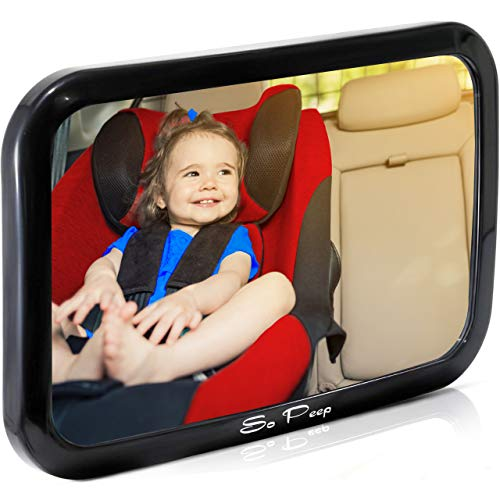 Shatterproof Baby Backseat Mirror