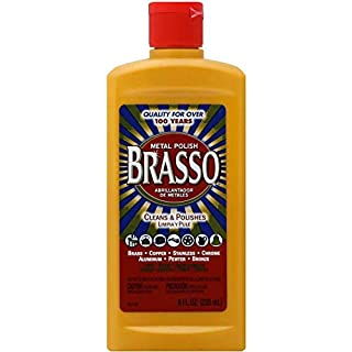 Brasso Multi-Purpose Metal Polish, 8 oz (4 Pack)
