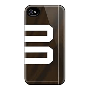 Great Cell-phone Hard Cover For Iphone 6plus With Allow Personal Design Trendy Cleveland Browns Pictures AaronBlanchette