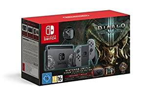 Nintendo Switch Diablo III Limited Edition Console with Diablo III Download Code + Themed Carry Case