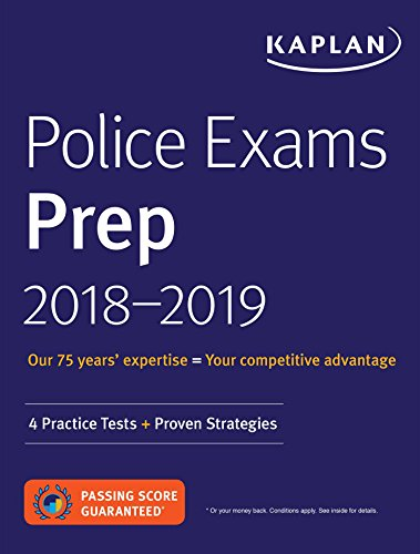 Police Exam Prep Books