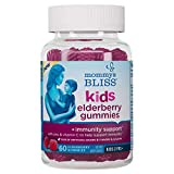 Mommy's Bliss - Kids Elderberry Gummies + Immunity Support - with Zinc and Vitamin C to Help Support Immunity - 60 Gummies