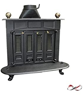 Estufas de chimenea de hierro fundido en Franklin