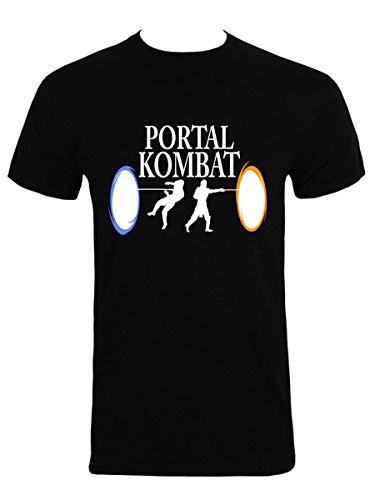 Men's Portal Kombat T-shirt Black