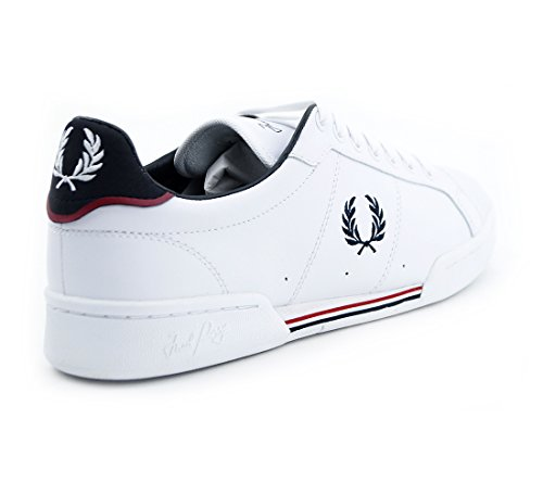 Leather B722 White Perry Fred Perry B722 Leather Wei Fred Oqw1OSRY