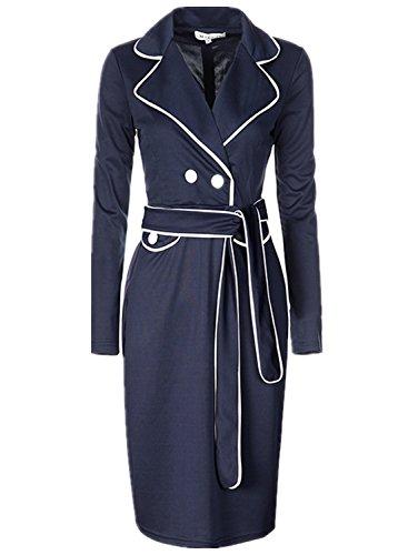 Buy belted blazer over dress - 1