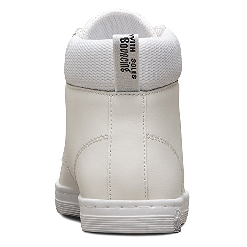 Dr.Martens Womens Maelly T Lamper Leather Boots Blanc