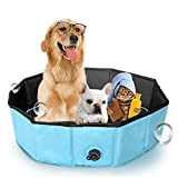 Anyer Pet Bathtubfestival Large Dog A Dragon Bath Basin Foldable Swimming Pool A Dog Cat Supplies