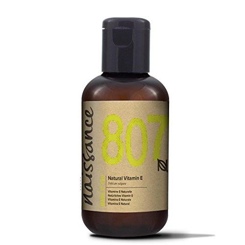 Naissance Vitamin E Oil 2 fl. oz. Fades Dark Spots & Circles Under Eyes, Moisturizes & Heals Damaged Skin.