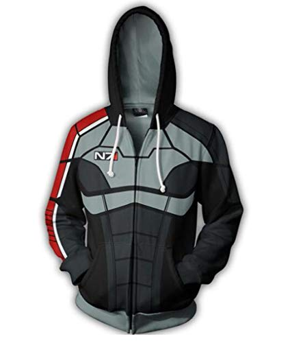 Used, Ayazan Game 3D Printed N7 Hoodie T-Shirt Cosplay Costume for sale  Delivered anywhere in USA