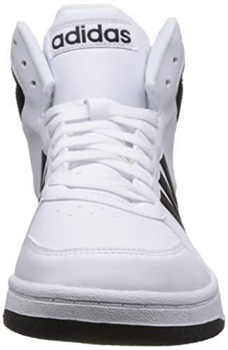 De Blanc Hoops Adidas ftwr Noir Core ball Chaussures Basket Ftwr Mid Hommes Core Pour 2 0 RXXpf