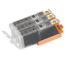 Ink & Toner Geek ® - 3 Pack Compatible Replacement Inkjet Cartridges for Canon CLI-251 XL Gray For Use With Canon PIXMA MG-5450 MG-5520 MG-6320 MG-6350 MG-6420 MG-7120 MG-7150 iP7250 iP8720 iP8750 (3 Gray)