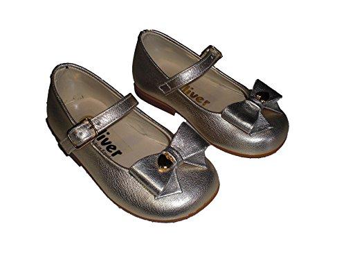 Merceditas Doradas para niña. Calzado infantil Made in Spain, garantia de calidad, Talla 21
