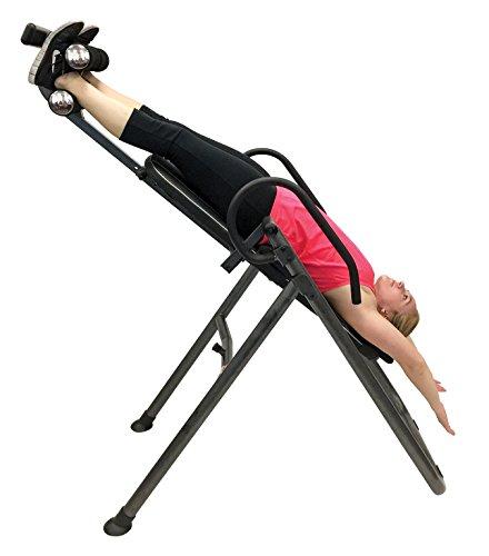 Health Gear ITM4.5 Adjustable Heat & Massage Inversion Table - 300 lb